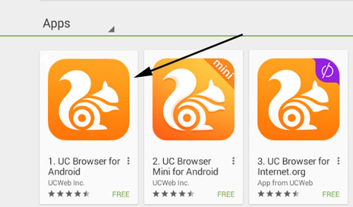 Download Uc Browser for WIndow Computer
