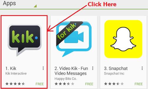 Kik Messenger for Mac Pc