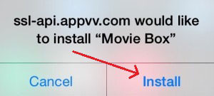 Install moviebox no jailbreak