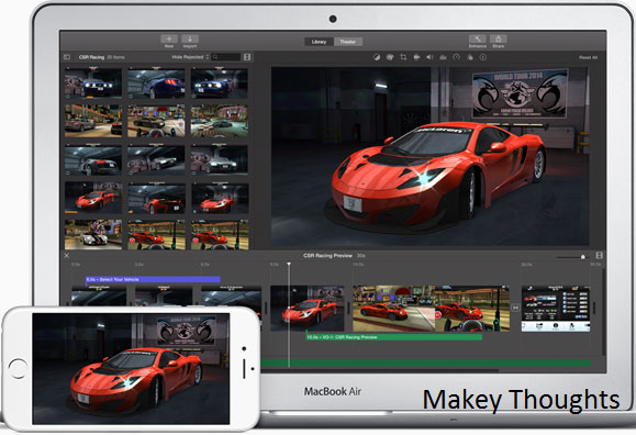 iMovie for iPhone iPad