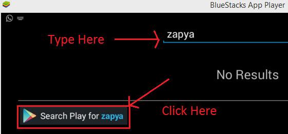 Zapya app for PC