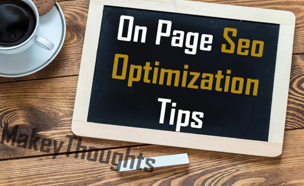 On page seo optimization techniques