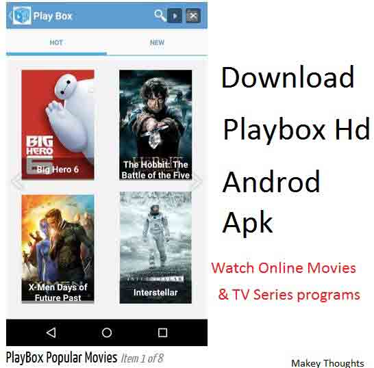 Download Playbox hd for android