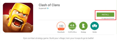 Install clash of cans for pc