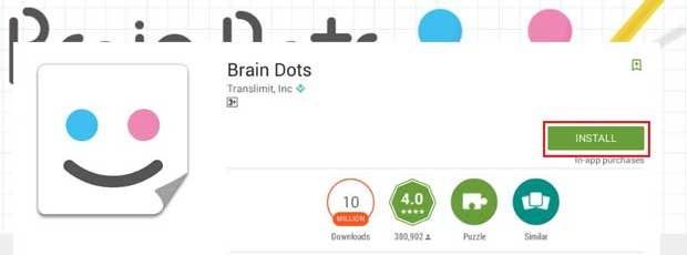 Brain dots for Pc Installation