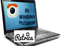 Retrica Pc download on windows