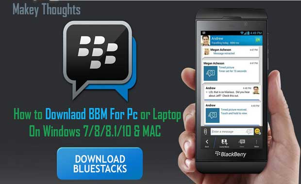 bbm for pc or laptop