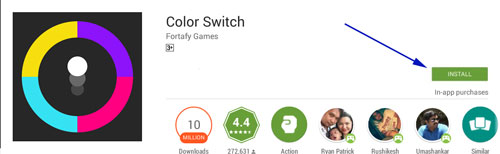 Download Color Switch for Pc or Laptop