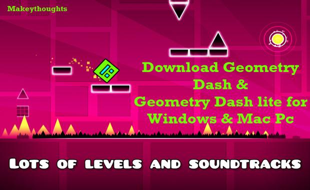 Geometry dash pc game or Geometry dash Lite for Windows