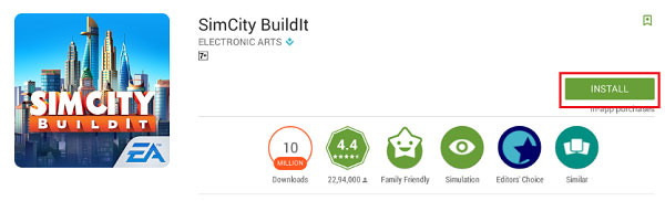 Download Simcity Buildit for Pc