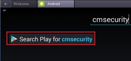 Cm Security for Pc in Bluestacks