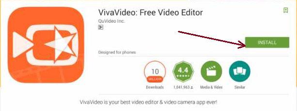 Install vivavideo for Pc