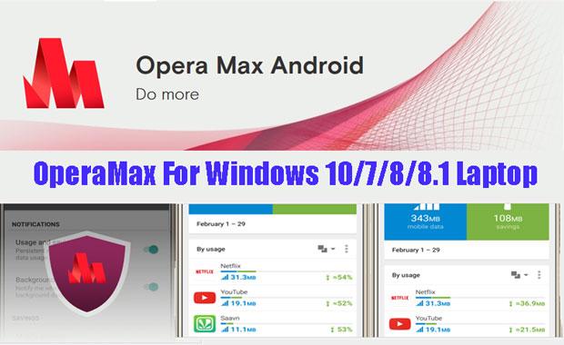 Opera max for Pc