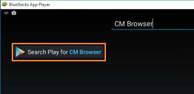 Searchplay for Cm Browser Pc App