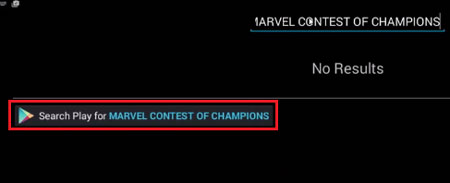 Searchplay for Marvel contest of champions
