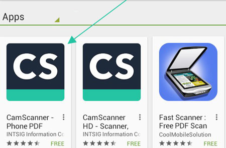 Install Camscanner for Pc windows,mac