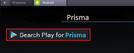 Searchplay for Prisma App